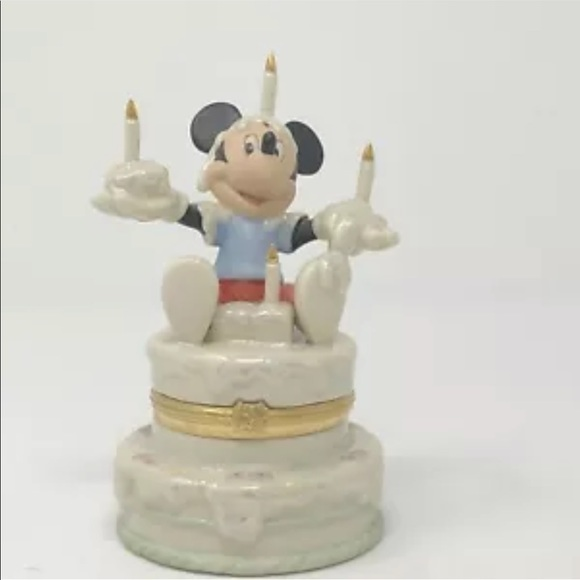 Disney Other - Lenox Mickey's Birthday Surprise Treasure Box